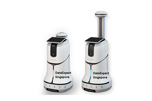 Dry-Mist Sanitization Robot