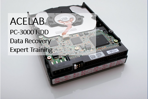 PC-3000 HDD Data Recovery Expert Training