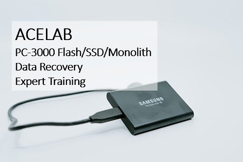 PC-3000 Flash/SSD/Monolith Data Recovery Expert Training
