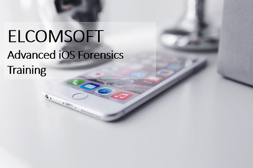 Elcomsoft Advanced iOS Forensics Training