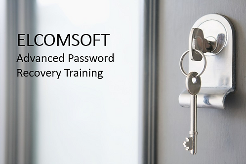 Elcomsoft Advanced Password Recovery Training