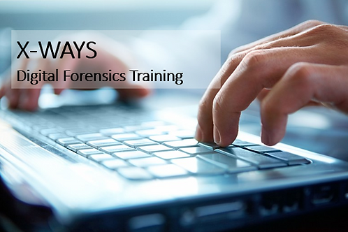 X-Ways Forensics Training (4 Days)