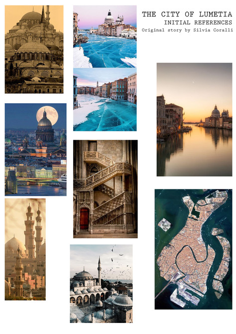 the city of lumetia initial references -
