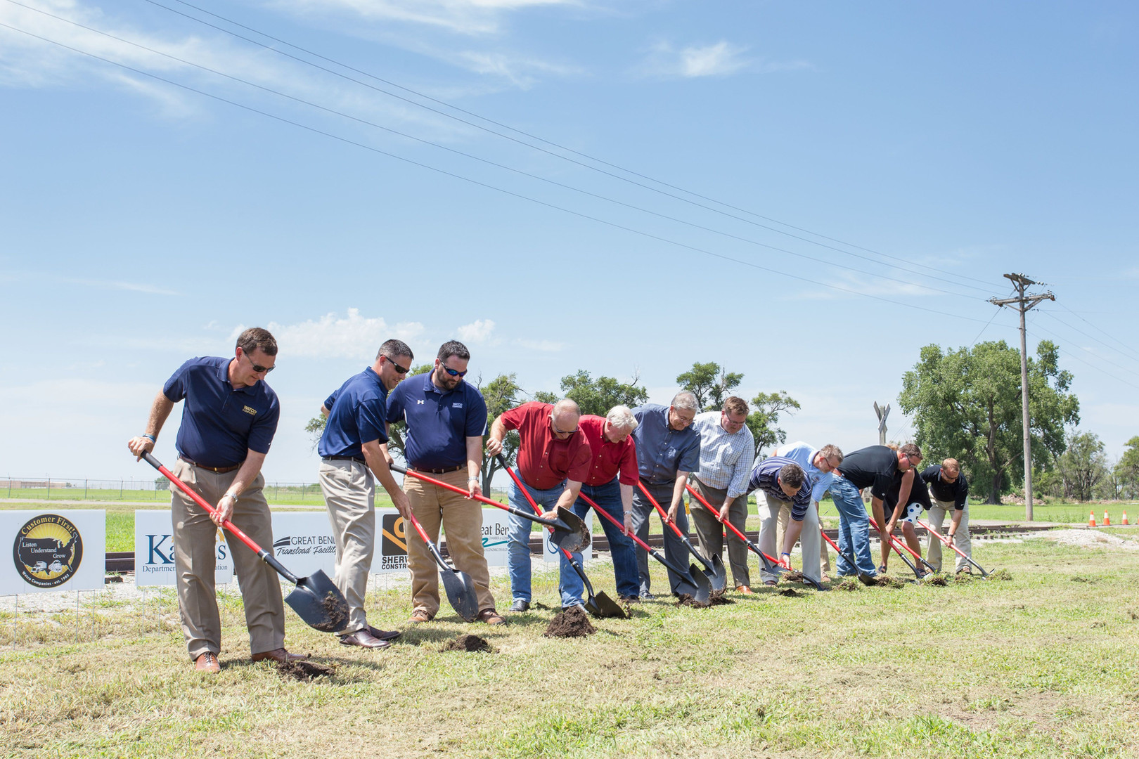 Breaking Ground at the Great Bend Transload