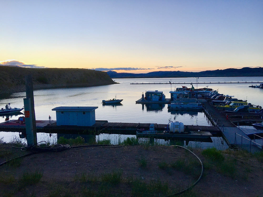 Flaming Gorge marina