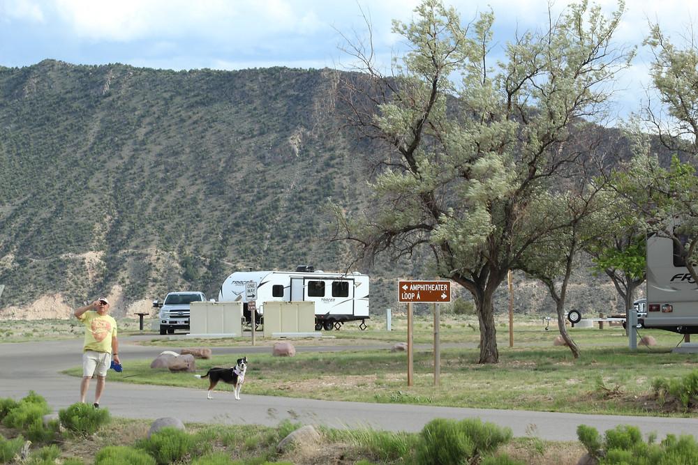 campground setting