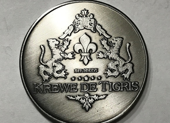 2020 Commemorative Krewe de Tigris Doubloon
