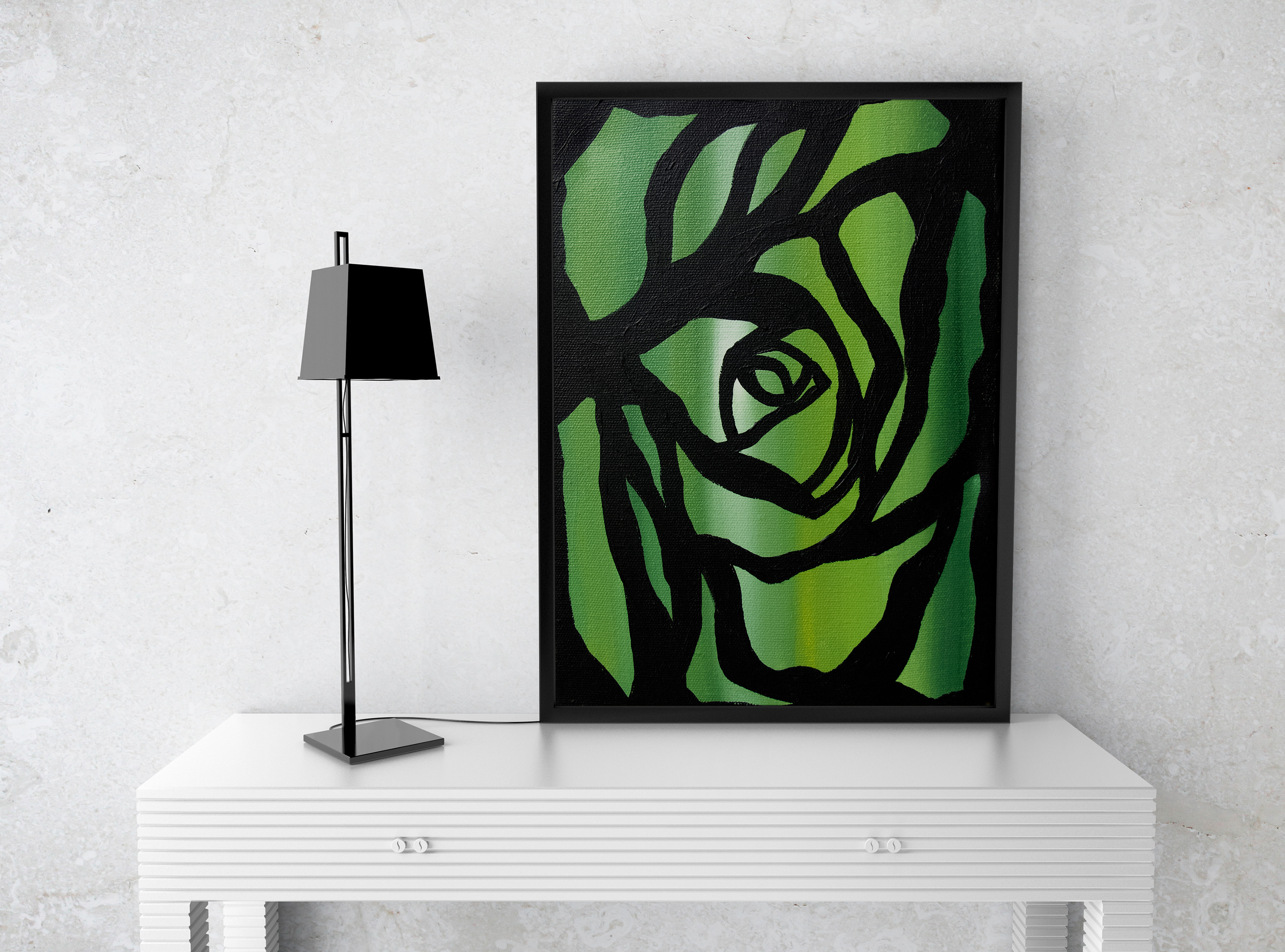 The Dark Rose Series - Green - 2009