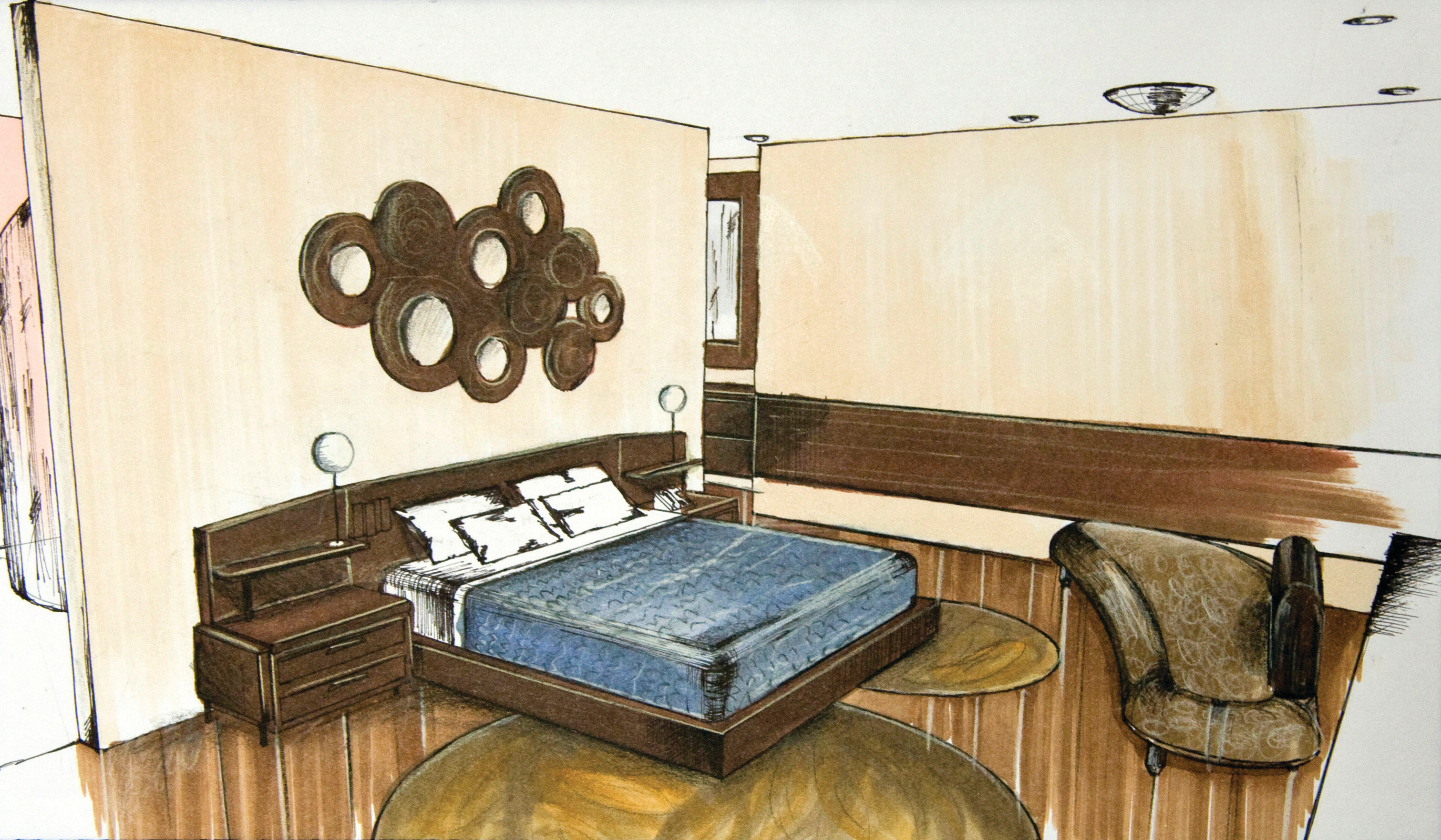 Hotel Aura - Bedroom