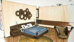 Hotel Aura - Bedroom