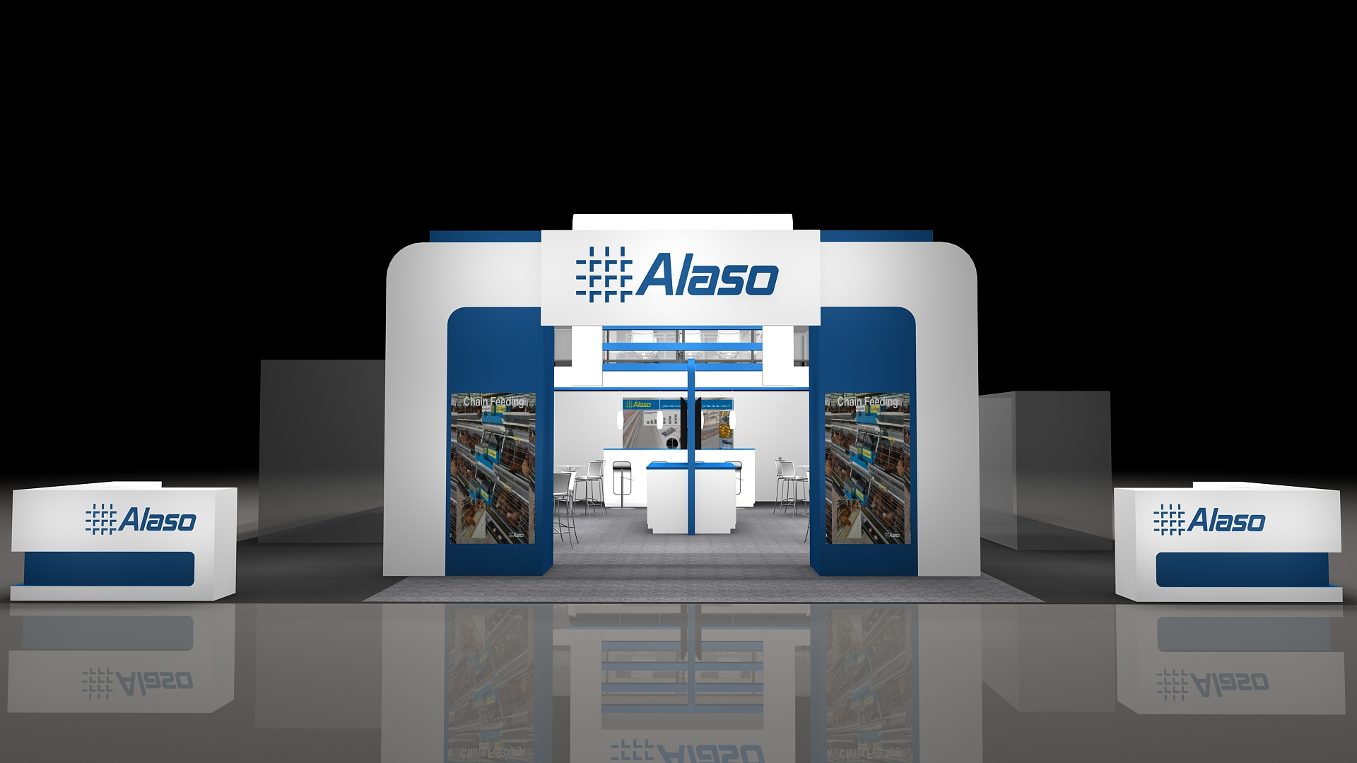 Alaso  - Front View