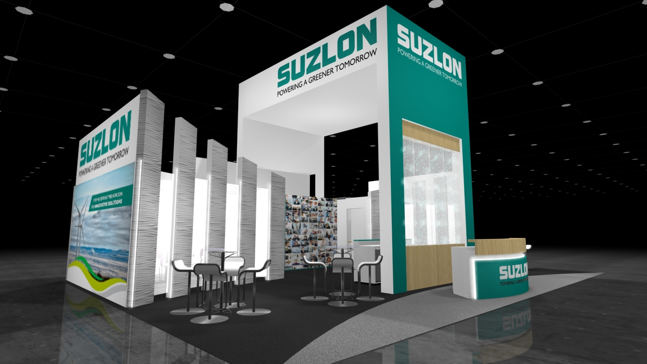 Suzlon - Left Corner View