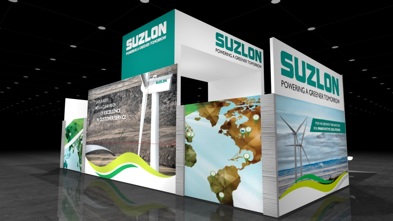 Suzlon - Back Corner View