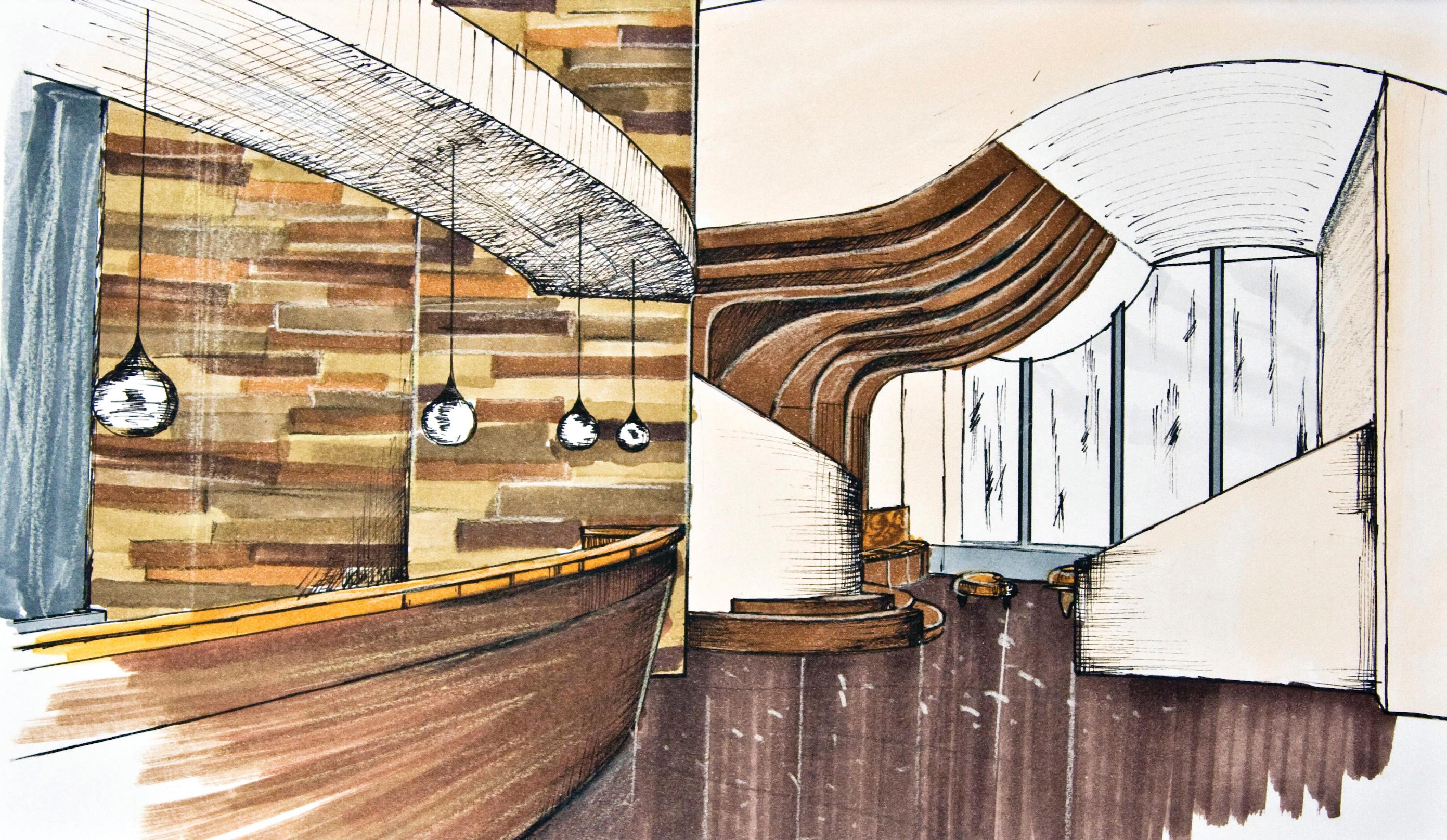 Hotel Aura - Lobby Design