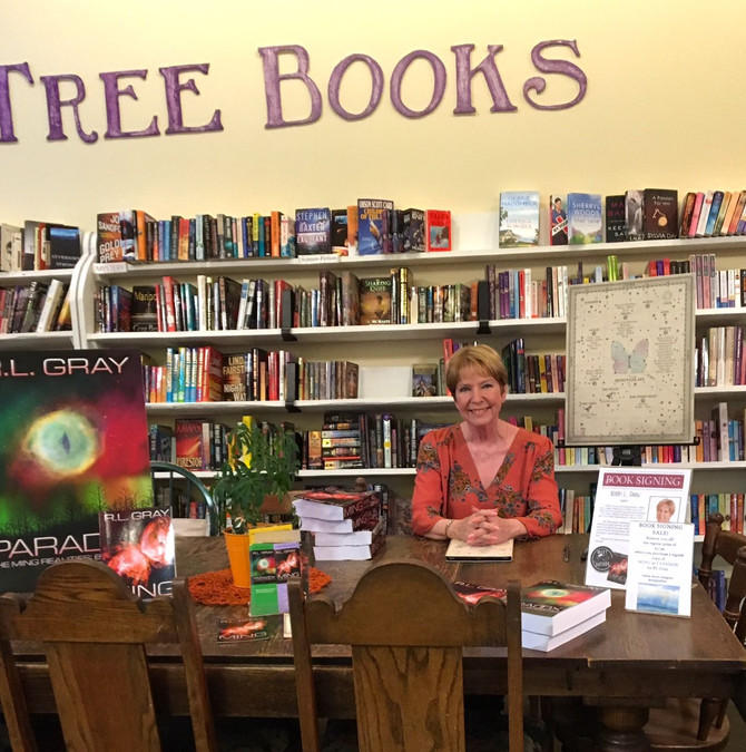 Another great signing at Purple Tree books!