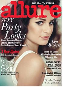 Allure Magazine December, 2011 Featuring Dr. Warren.