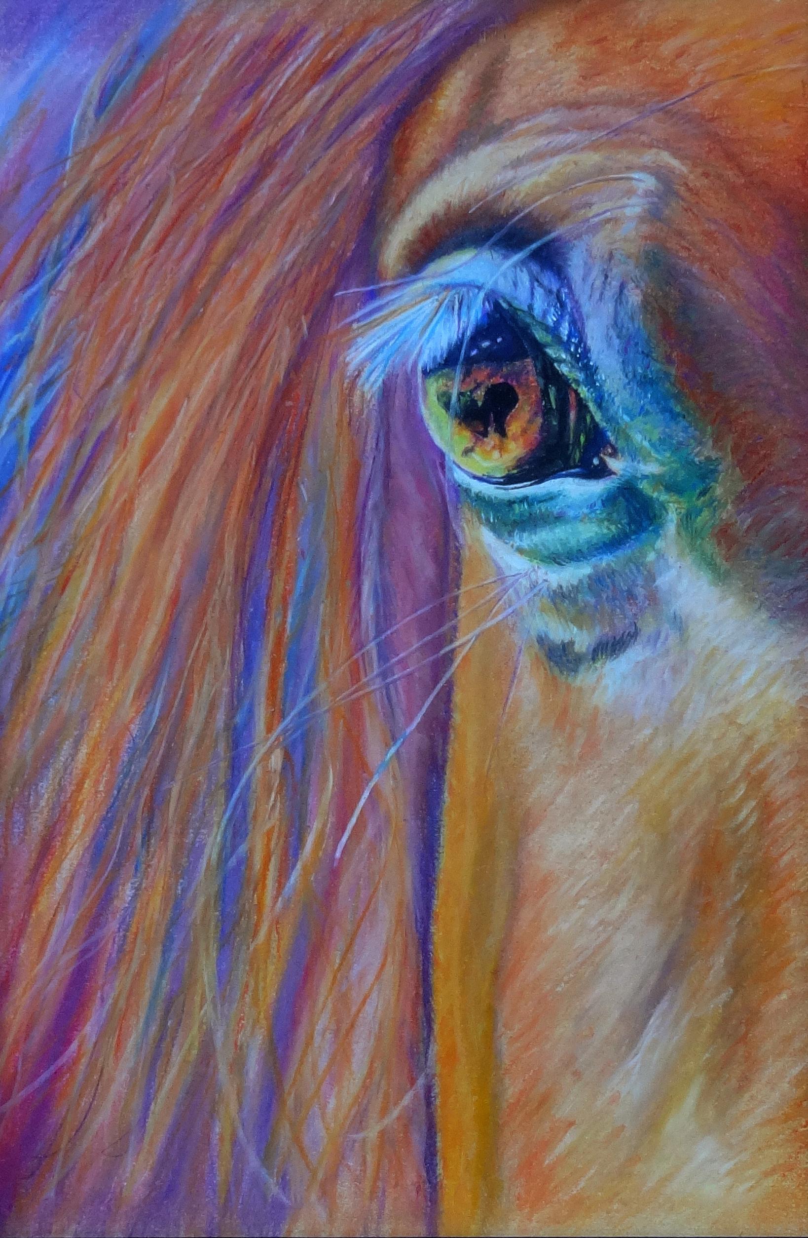 Orange Arabian Horse