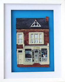 Storm Fish Restaurant, Fish Restaurant, High street, Poole, dorset, Katherine cromwell, poole artist, dorset artistPoole, poole