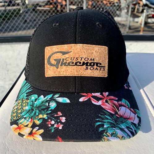 Custom Gheenoe Hawaiian Cork Hat
