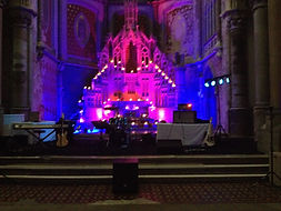 LED Uplighter Hire Wedding Event