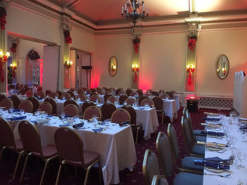LED Uplighter Hire Gala Dinner Wedding Conference Event Ball