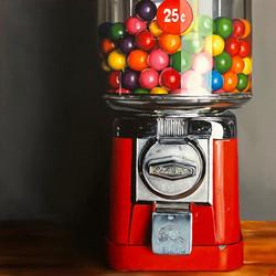 machine à boules de gomme_