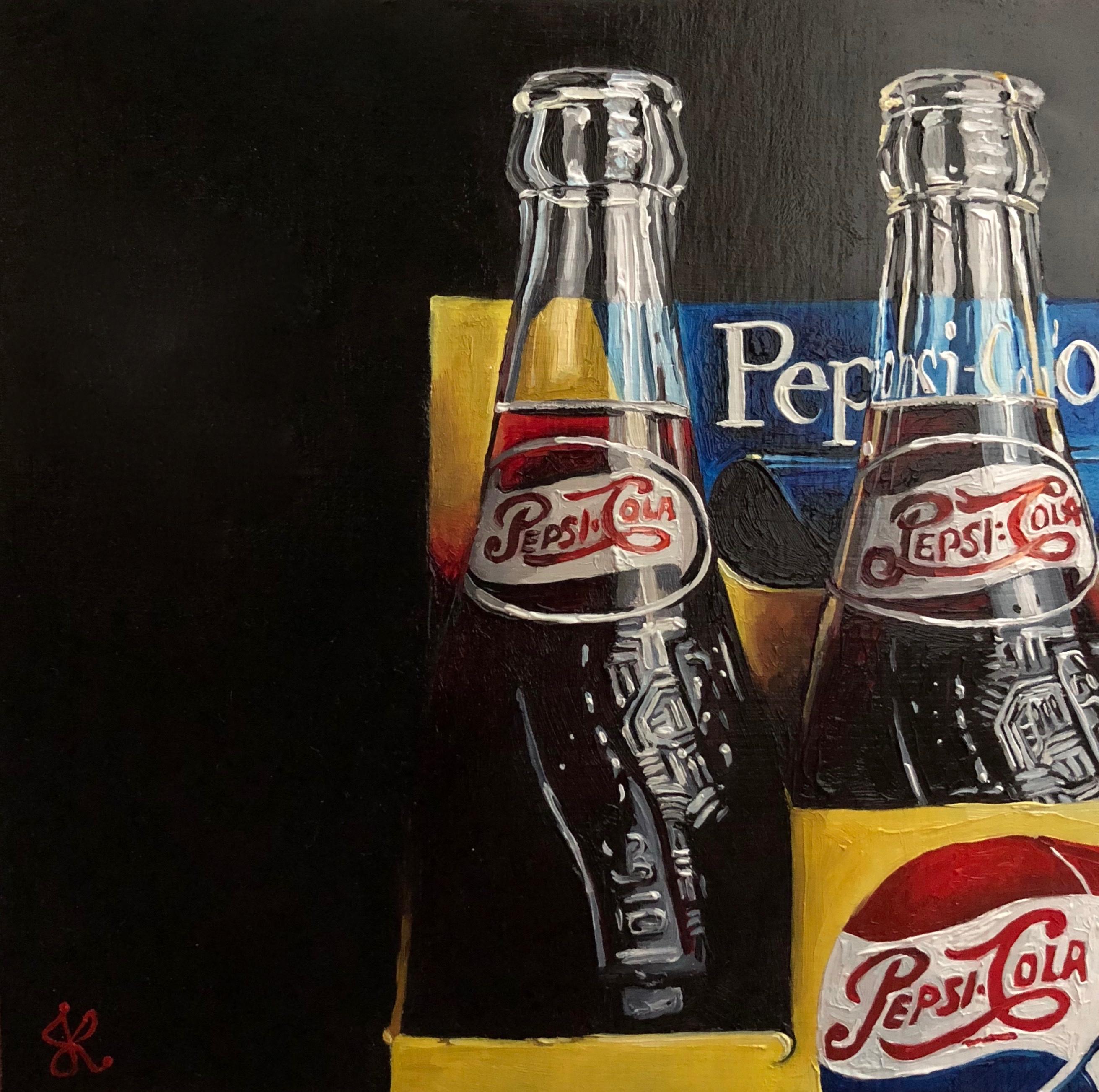 Two Vintage Pepsi