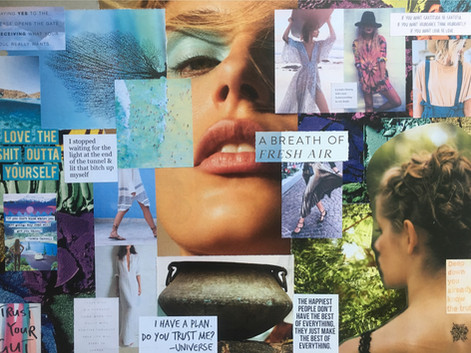 Vision Board your New Beginnings