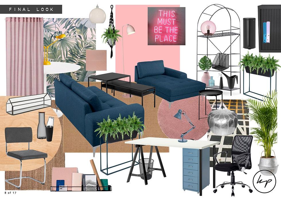 Peckham Levels - Office Mood boards - Fi