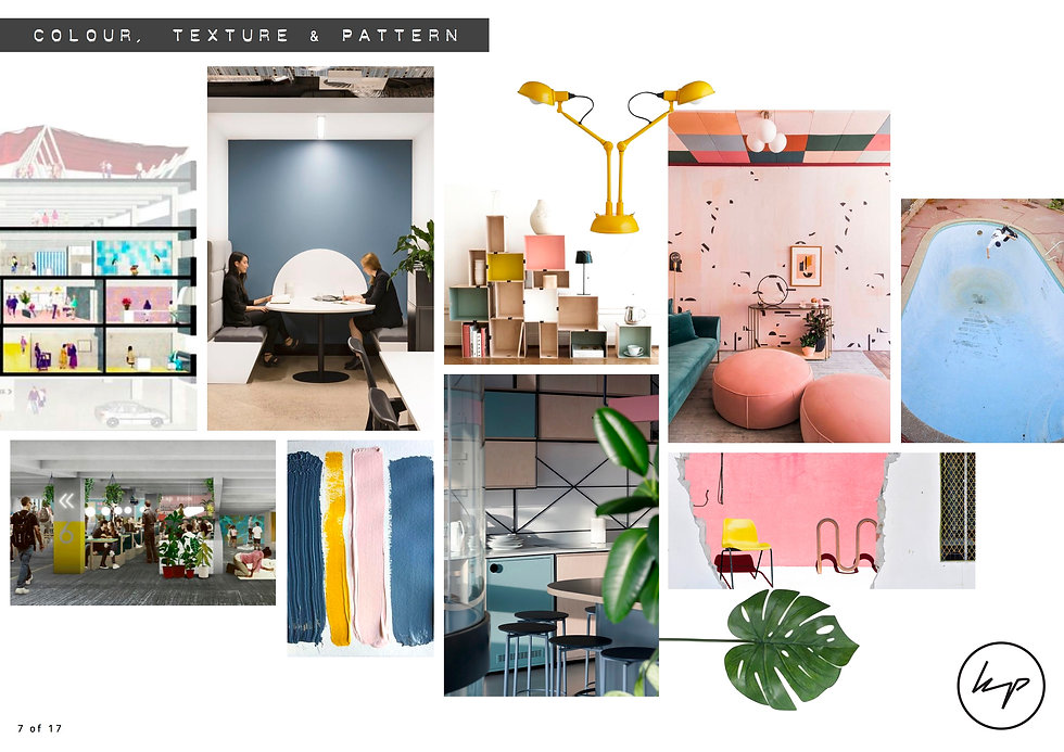 Peckham Levels - Office Mood boards - Co