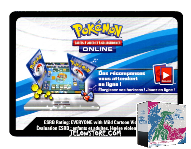 Code Online Pokémon - 1x ETB/Coffret Dresseur d'Elite [SL12]