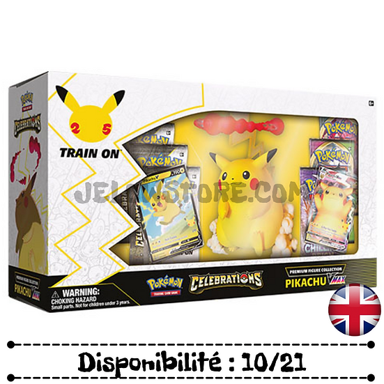 Pokémon TCG: Celebrations Premium Figure Collection—Pikachu VMAX [AN]