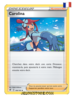 CAROLINA 166/192 FR [EB02 CLASH DES REBELLES]