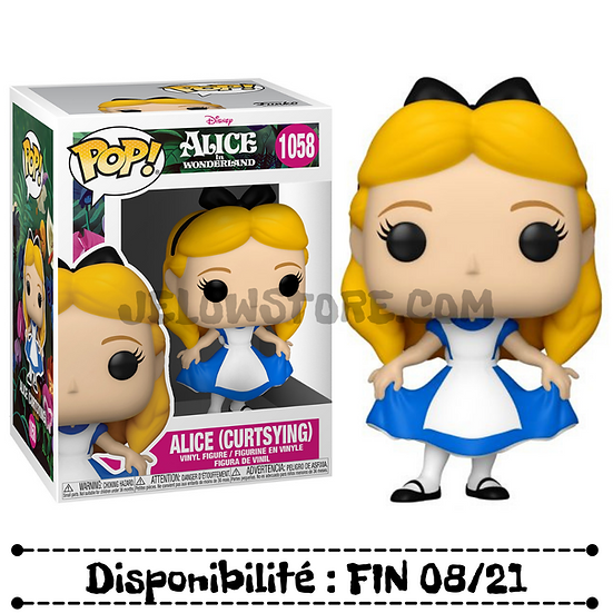 Funko pop [Alice in Wonderland 70th] Alice (curtsying) - #1058