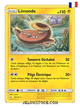 Carte Pokémon SL10 Limonde 56/214