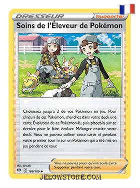 SOINS DE L'ELEVEUR DE POKEMON 166/189 FR [EB03 TENEBRES EMBRASEES]