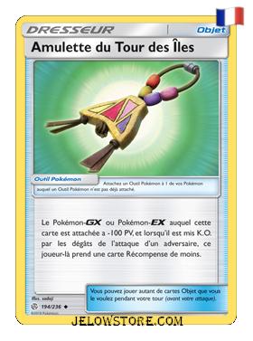 AMULETTE DU TOUR DES ILES 194/236 FR [SL12 ECLIPSE COSMIQUE]