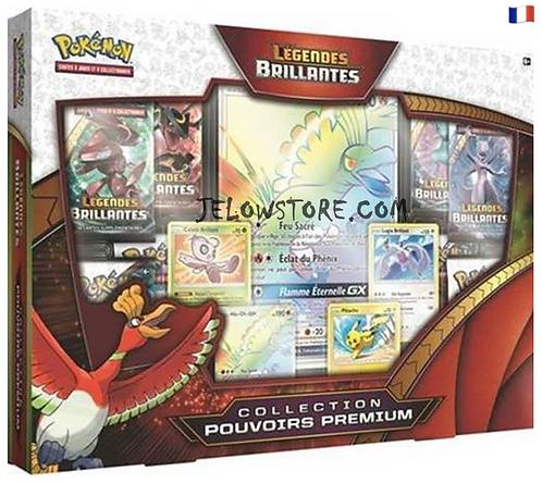 coffret pokémon collection premium légendes brillantes