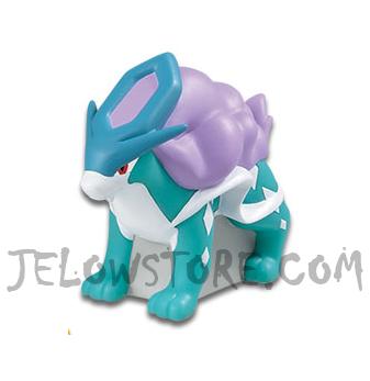 Pokémon - Mini Sofubi Figure Vol.4 - Suicune