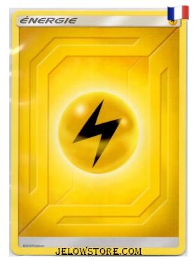 carte pokemon energie electrique 2019