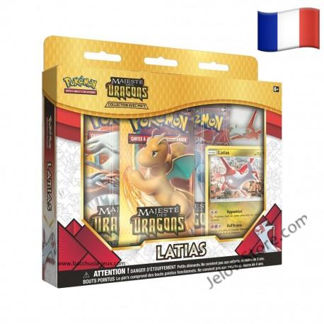 Coffret Pokémon Latias FR Majesté des Dragons SL7.5