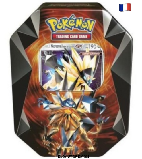 Pokebox Necrozma Crinière du Couchant GX Fr printemps  2018
