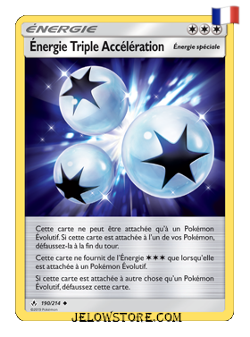 ENERGIE TRIPLE ACCELERATION 190/214 FR [SL10 ALLIANCE INFAILLIBLE]