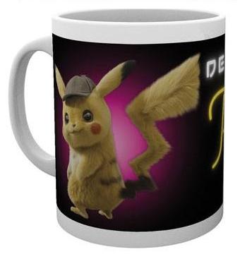 mug detective pikachu neon