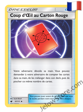 COUP D'ŒIL AU CARTON ROUGE 97/111 FR [SL4 INVASION CARMIN]