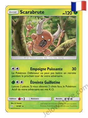 Pokemon SL9 Duo de choc scaracbrute fr