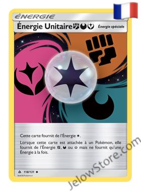 ENERGIE UNITAIRE 118/131 FR [SL6 LUMIERES INTERDITES]