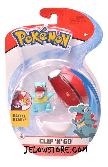 figurine pokemon pokeball clip n go kaiminus