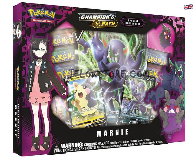 Box Premium - Marnie [SWSH 3.5 CHAMPION'S PATH] AN