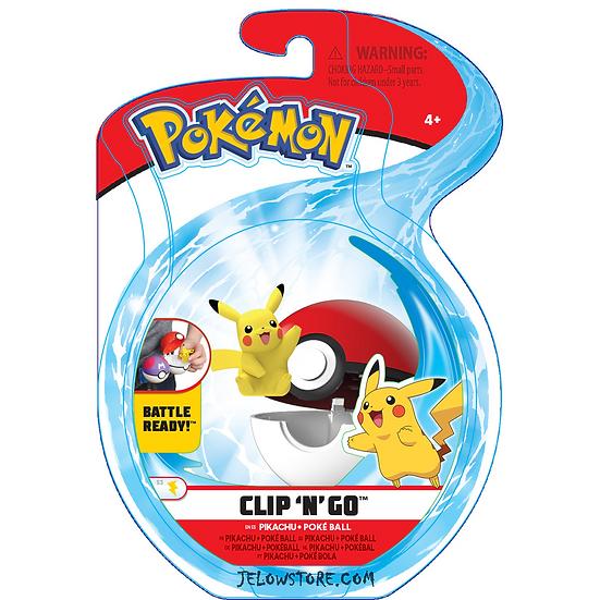 Pokémon [Pokéball Clip 'N' Go]: Pikachu + Poké Ball